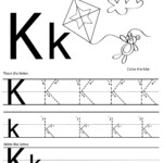 Pinmareese On Tracing | Free Handwriting Worksheets inside Tracing Letter K Worksheets