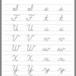 Pinnahomy Moreno On Preschool Activities | Cursive with regard to Script Tracing Letters