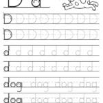 Pintb Lbi On Alphabet   Letter D Worksheet, Tracing regarding Tracing Letter Dd Worksheet