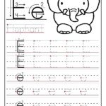 Pinvilfran Gason On Decor | Preschool Worksheets, Letter with regard to E Letter Tracing Worksheet