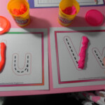 Play-Doh Letter Tracing throughout Tracing Letters With Playdough