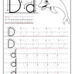 Preschool Alphabet Worksheets Printables Printable Letter A inside Tracing Letter Dd Worksheet