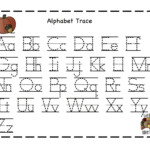 Preschool Printables: Thanksgiving | Letter Tracing in Preschool Worksheets Tracing Letters And Numbers