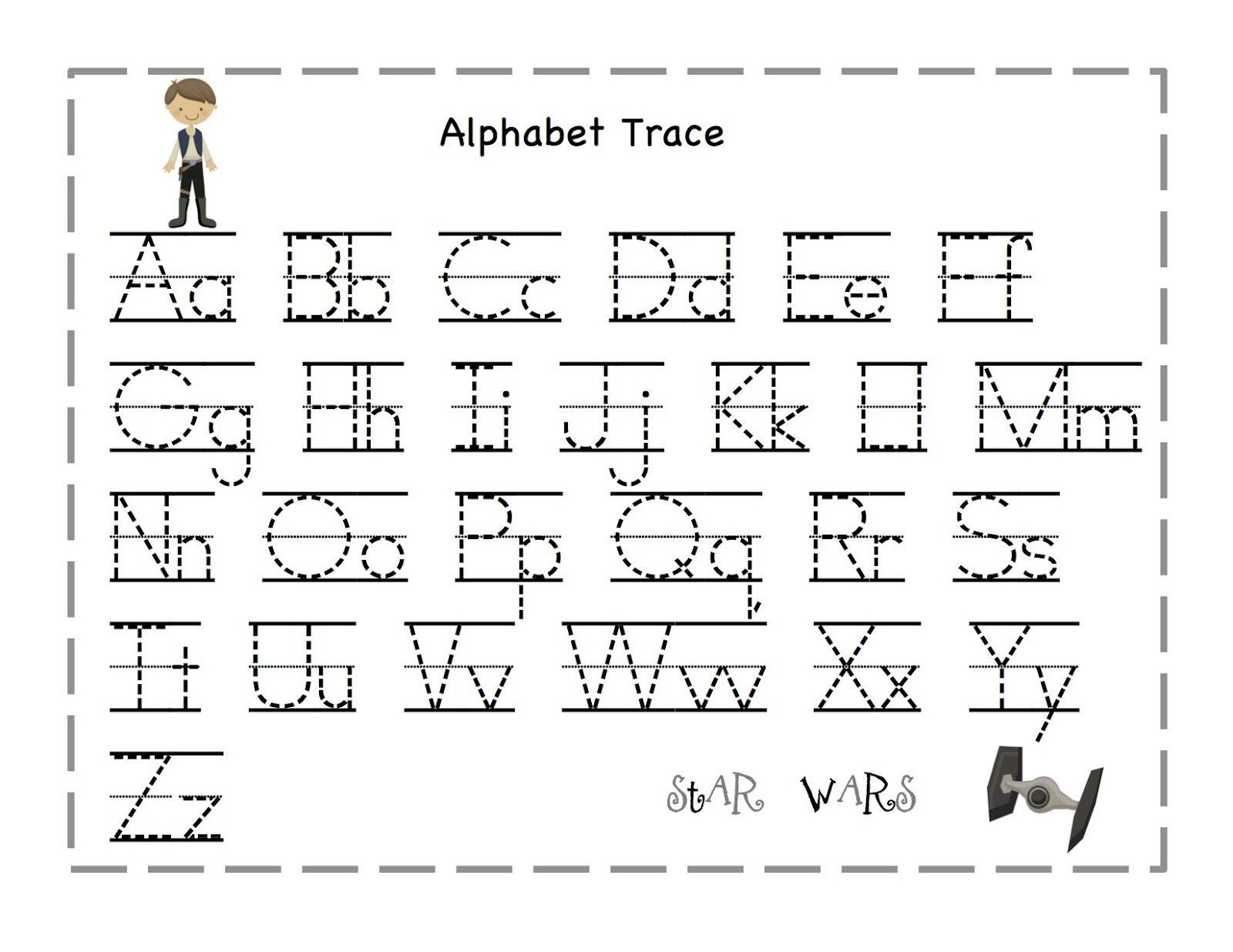 Preschool Tracing Letter | Preschool Worksheets, Abc Tracing in Free Printable Abc Tracing Letters
