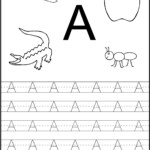 Preschool Tracing Orksheets Pdf Kids Free Printing Alphabet pertaining to Tracing Letters For Nursery