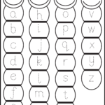 Preschool Tracing Pages | Tracing Letters, Kids Math inside Lower Case Letters Tracing Sheets