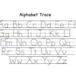 Preschool Tracing Worksheets - Best Coloring Pages For Kids throughout Tracing Letters For Preschool Printables