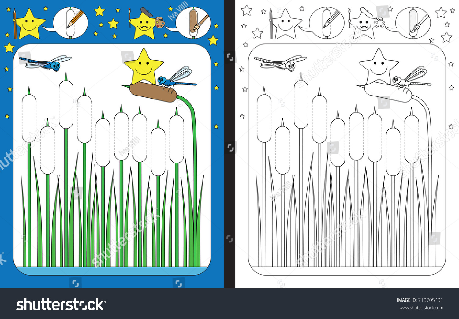 Preschool Worksheet Practicing Fine Motor Skills Stock with Graphomotor Activity Tracing Letters