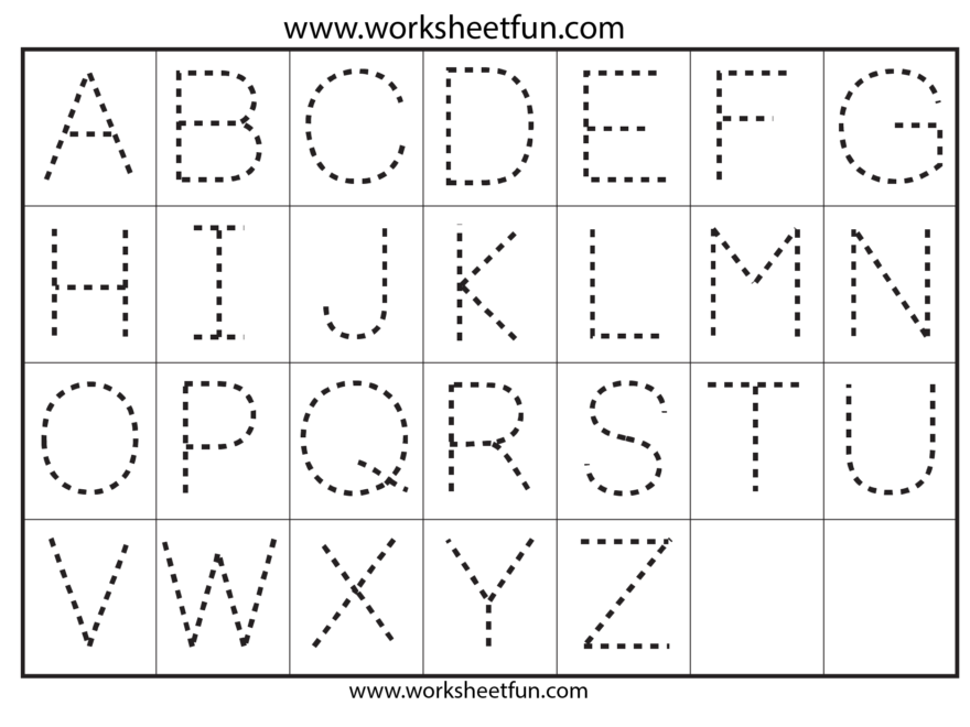 Preschool Worksheets Alphabet Tracing Letter A | Printable with regard to Tracing Letters For Nursery