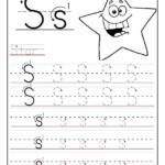 Printable Cursive Alphabet Worksheets Abitlikethis for S Letter Tracing Worksheet
