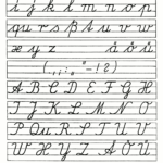 Printable Elegant Cursive Writing A To Z 14 Gkmhl Cursive with regard to Tracing Cursive Letters Pdf