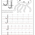Printable Letter J Tracing Worksheets For Preschool For inside Tracing Letter J Worksheets