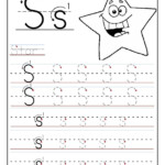 Printable Letter S Tracing Worksheets For Preschool in Trace The Letter S Worksheets For Preschool
