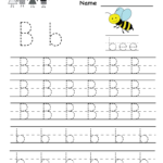 Printable Practice Writing Letters - Wpa.wpart.co inside Tracing Letter B Worksheets