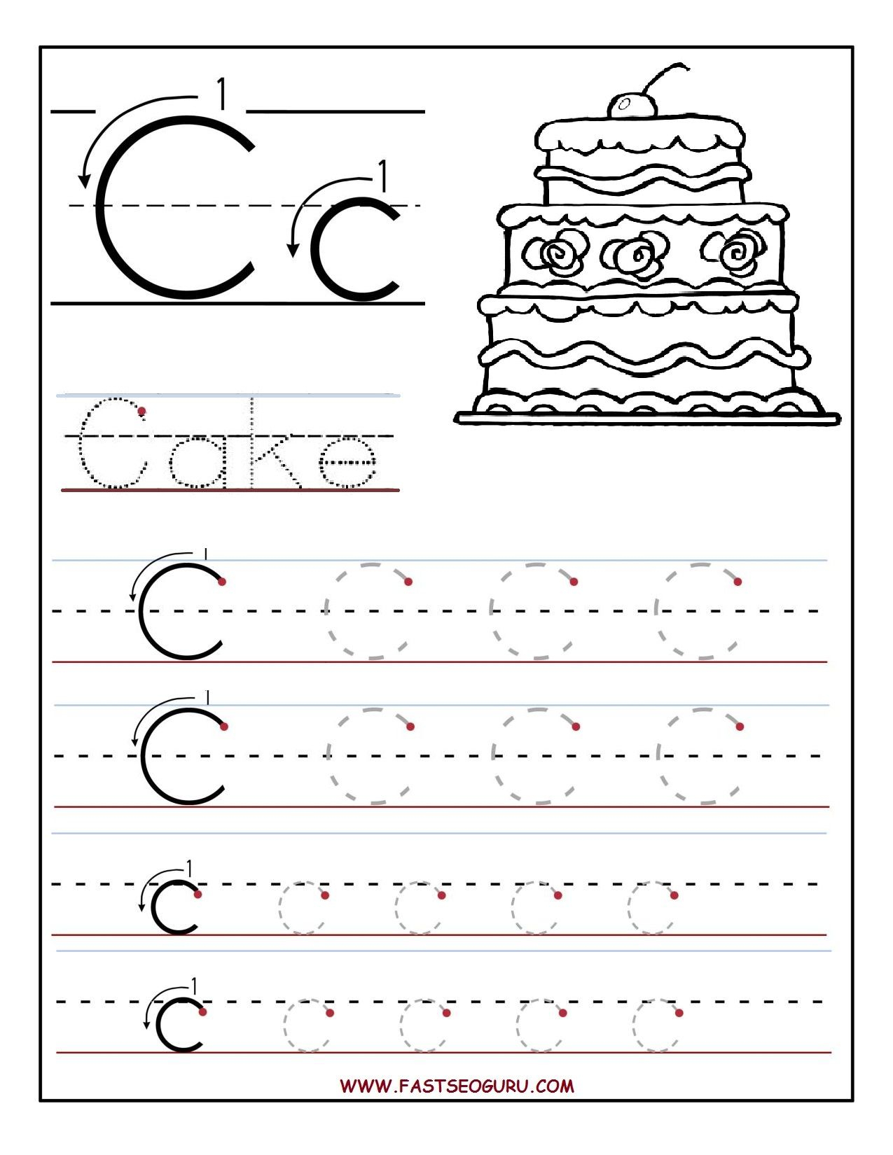 Printable Tracing Letters Sheets | Download Or Right-Click with regard to Tracing Letters Download