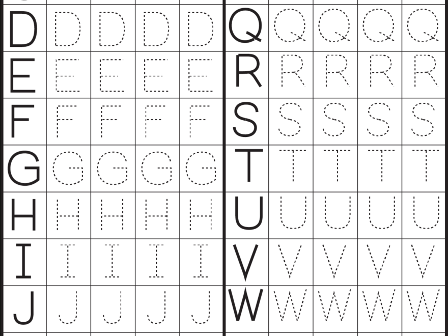 Printables Alphabet Pdf - Buscar Con Google | Arbeitsblätter regarding Tracing Letters And Numbers Worksheets Pdf