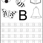 Printing Worksheets For Kids Practice Kindergarten Alphabet for Tracing Letters For Kindergarten