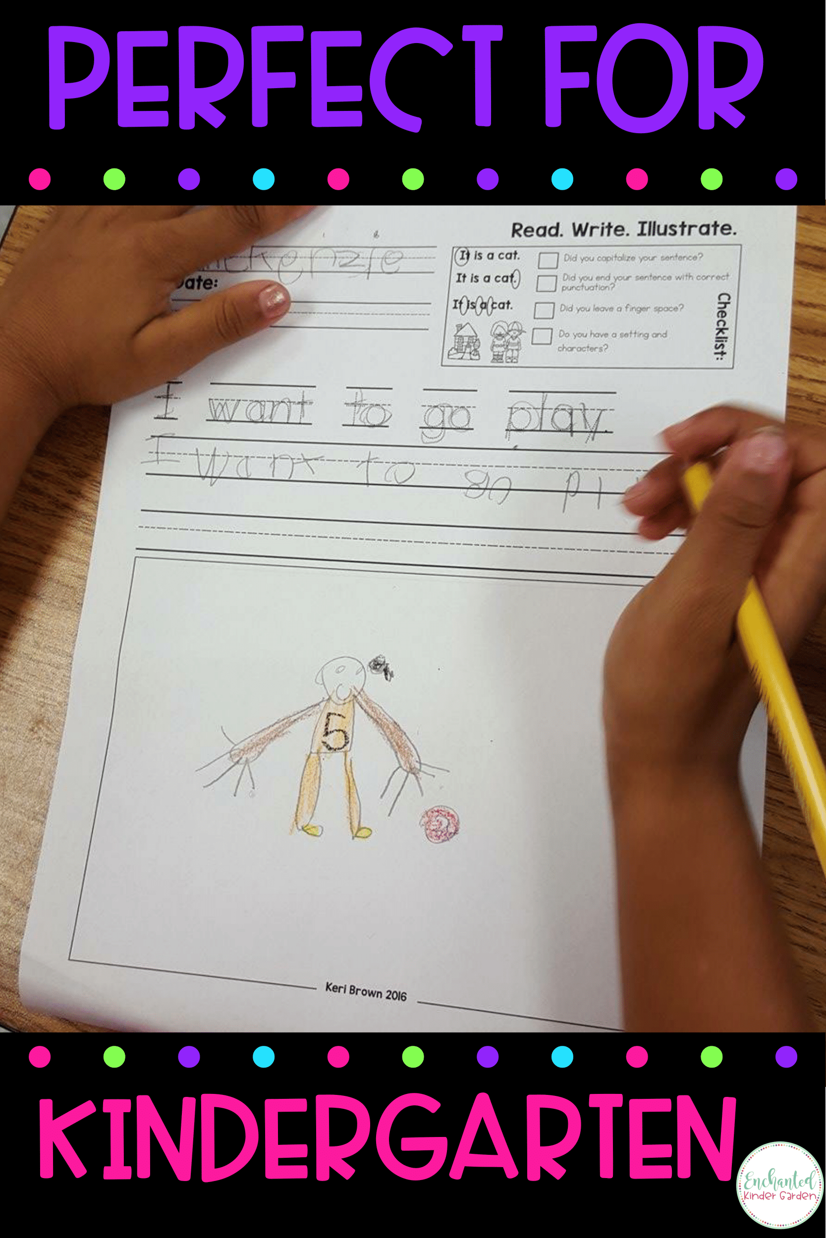 Read Write Illustrate - Mixed Vowels Writing Sheets inside Finger Tracing Letters