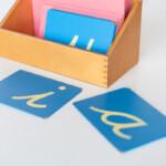 Sandpaper Letters - Montessorium within Tracing Sandpaper Letters