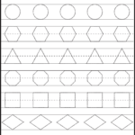 Shape Tracing, Letters & More - Lots Of Preschool Tracing regarding Tracing Letters And Shapes Worksheets