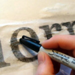 So Neat, I Had No Idea This Was Possible! Easy Way To in Tracing Letters Onto Wood