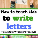 Teaching Preschoolers To Write Letters At Home | regarding How To Teach Tracing Letters