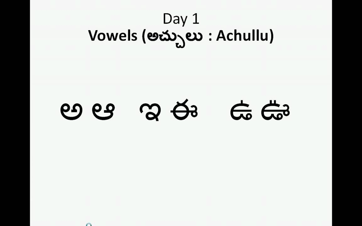 Teluguachulluday1 - Youtube pertaining to Telugu Letters Tracing Worksheets