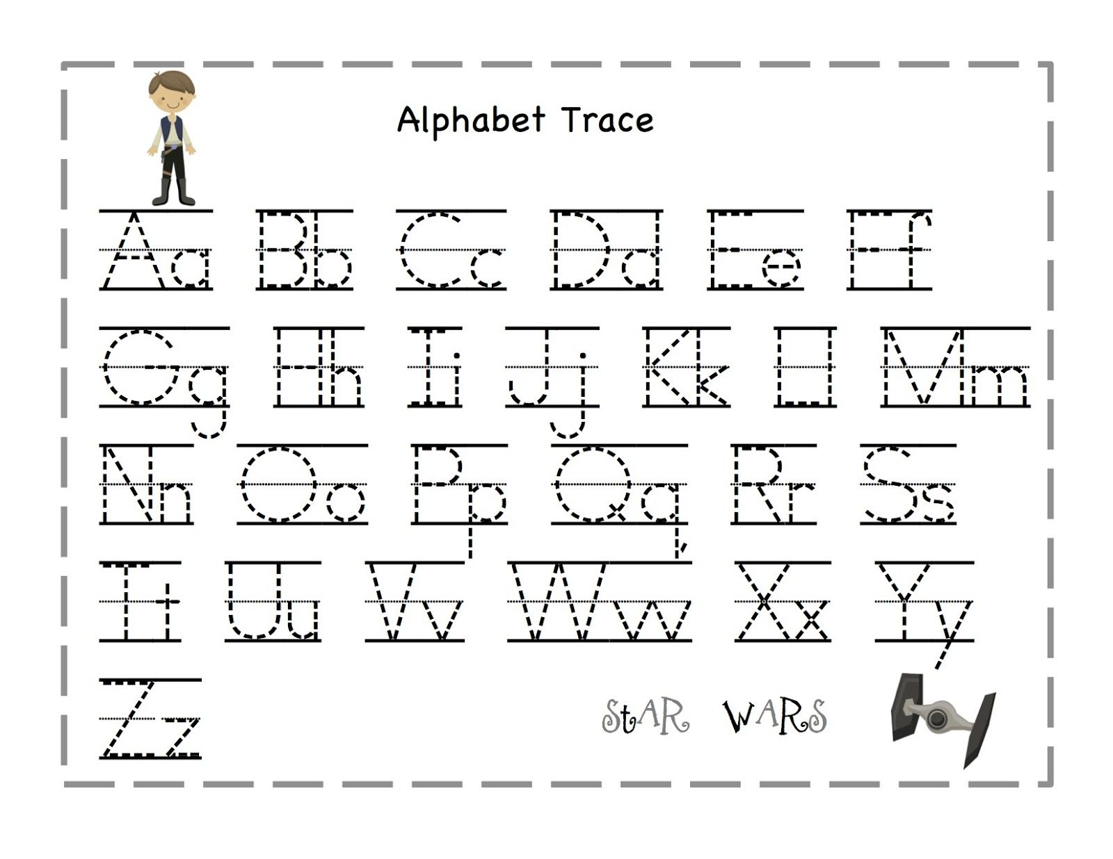 The Alphabet Tracing | Preschool Worksheets, Abc Tracing for Practice Tracing Letters Preschool
