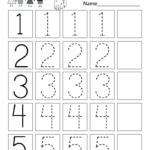 This Is A Numbers Tracing Worksheet For Preschoolers Or throughout Interactive Tracing Letters Online