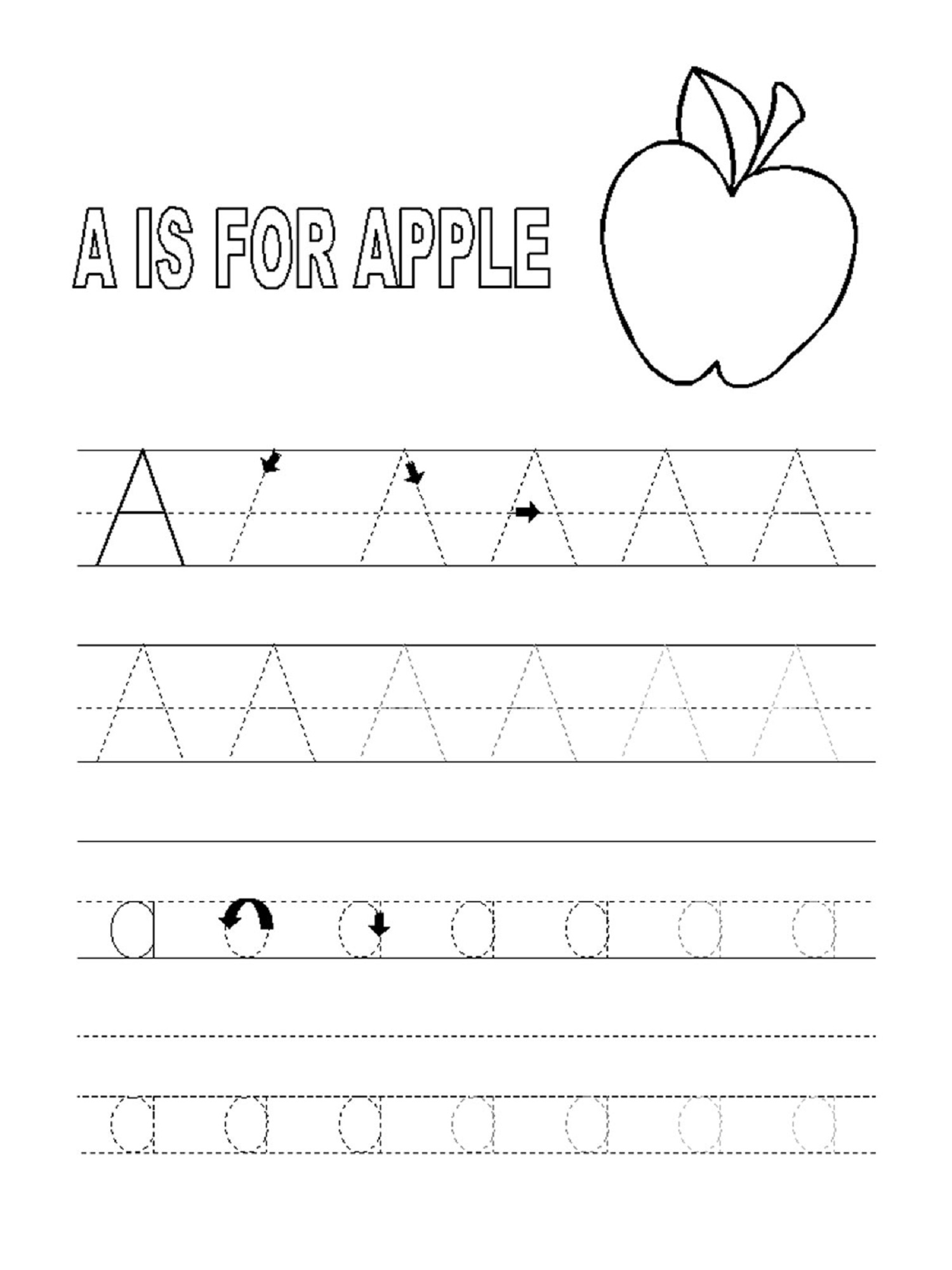 Trace Alphabet Letters For Educative Task Of Pre-Writing intended for Tracing Letters For 3 Year Olds