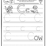 Trace Letter C Worksheets | Activity Shelter intended for Tracing Letter C Worksheets