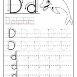 Trace Letter D Worksheets | Activity Shelter intended for Tracing Letter D Worksheets