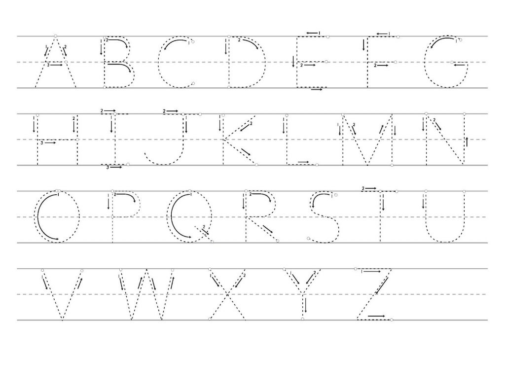 Trace Letter S | Kids Activities pertaining to Printable Tracing Letters Az
