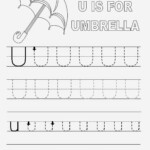 Trace Letter Worksheets Free Printable 2017 | Loving Printable with Tracing Letters And Numbers Printable