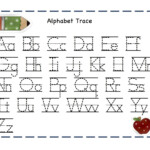 Trace Letters Worksheets | Activity Shelter in Tracing Numbers And Letters Worksheets