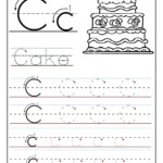 Trace The Letter C Worksheets | Preschool Worksheets, Letter throughout Trace Letter C Worksheets Preschool