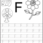 Trace The Letters Worksheets | Alphabet Writing Worksheets intended for Tracing Letter F Worksheets Preschool