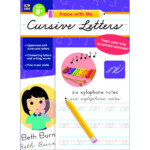 Trace With Me Cursive Letters Parent And Teacher Choice regarding Trace With Me Tracing Letters