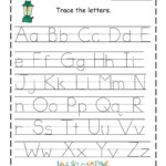 Traceable Alphabet Worksheets A-Z | Alphabet Tracing with Free Tracing Letters Worksheet A-Z