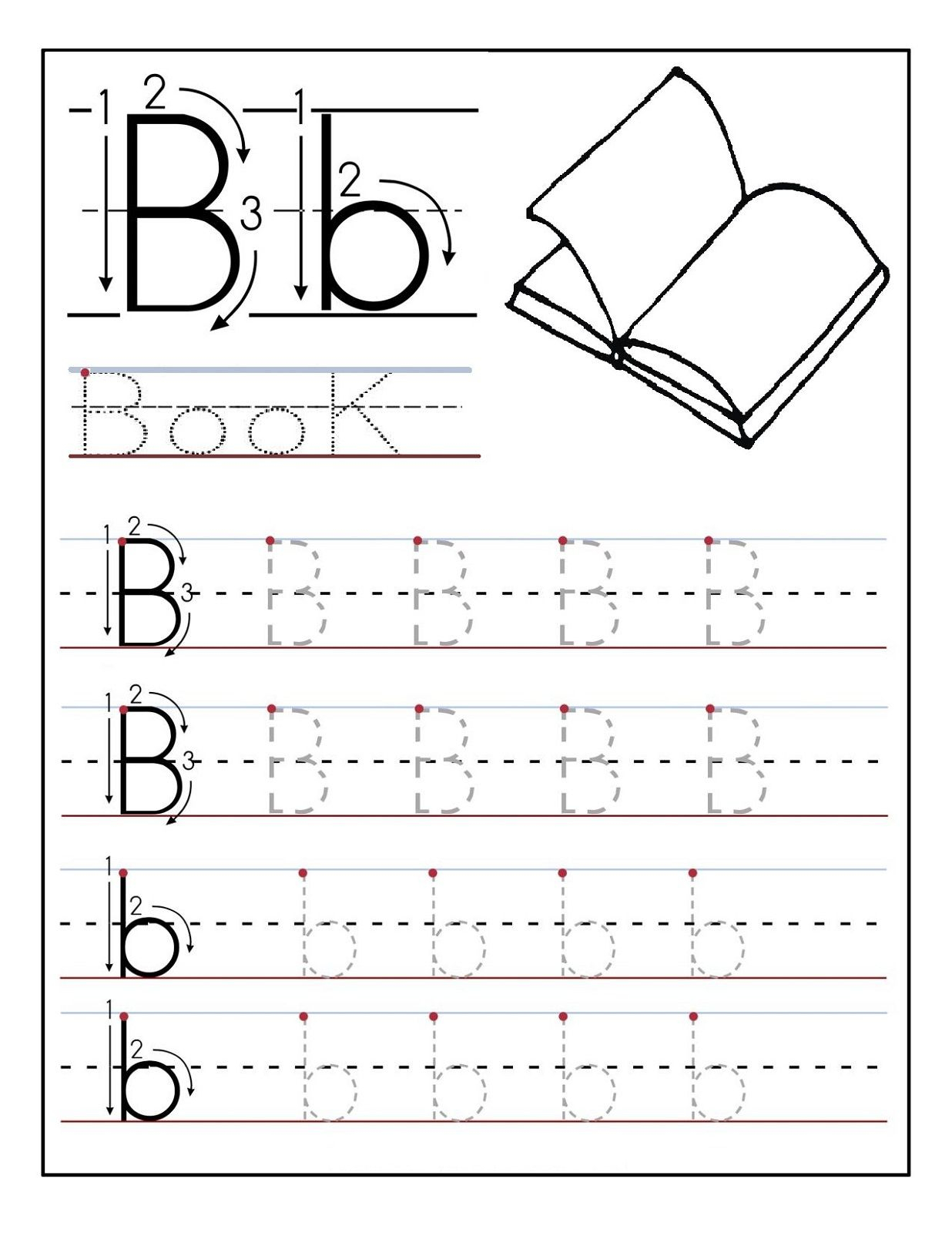 Traceable Letters Worksheet For Children Golden Age intended for Preschool Dotted Letters For Tracing