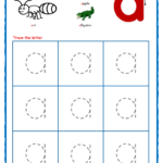 Traceable Lower Case Letters within Letter Tracing Worksheets Lowercase