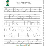 Tracing Alphabet Abc Printable | Preschool Worksheets intended for Printable Abc Tracing Letters
