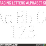 Tracing Alphabet | Alphabet, Tracing Letters, Tracing, Alphabet Worksheets,  Alphabet Letters, Alphabet Flash Cards, Letter Tracing within Tracing Letters Clipart