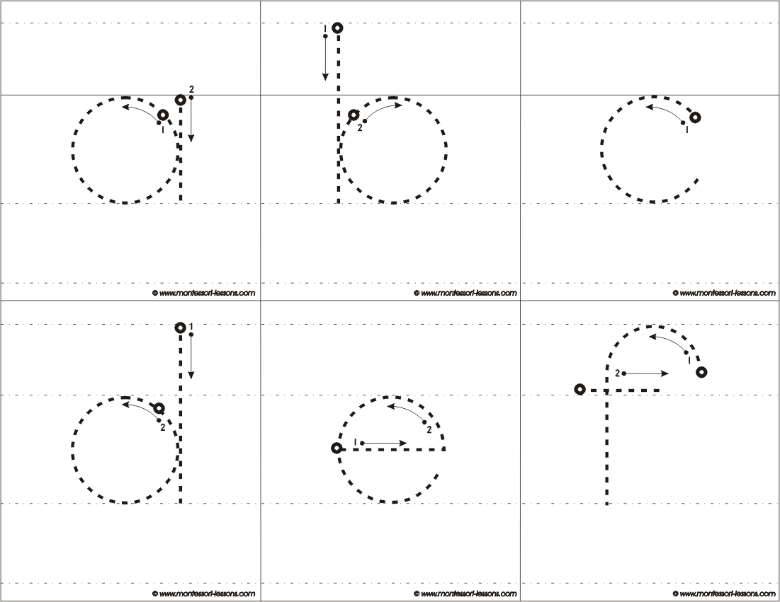 Tracing Big Letters, A-Z in Tracing Alphabet Letters Az