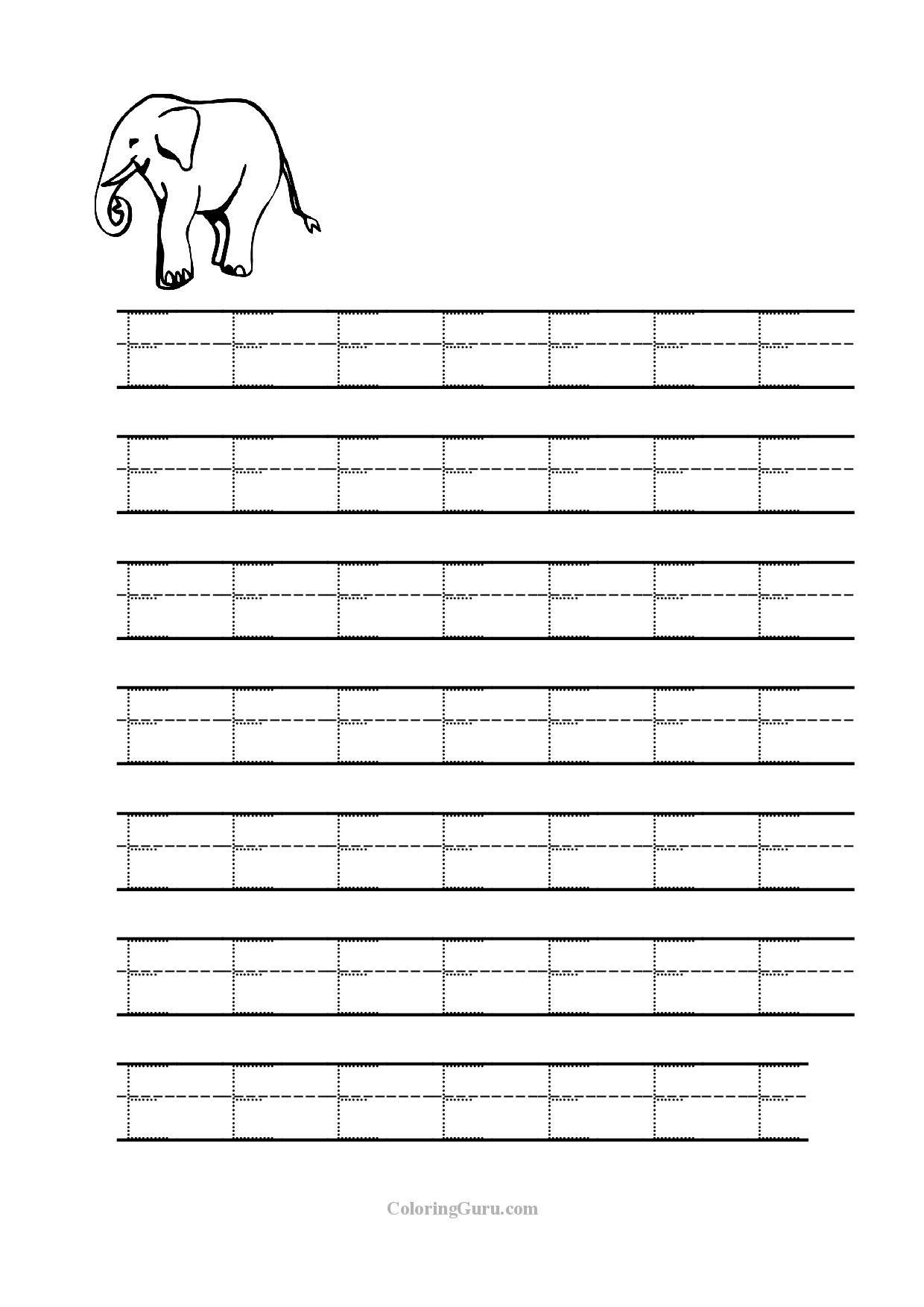 Tracing Letter D Worksheets For Preschool | Printables regarding Tracing Letter E Worksheets