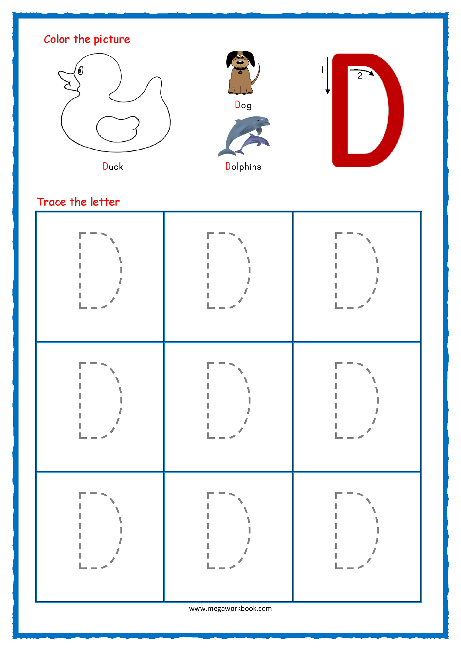 Tracing Letters - Alphabet Tracing - Capital Letters with Tracing Alphabet Letters Online