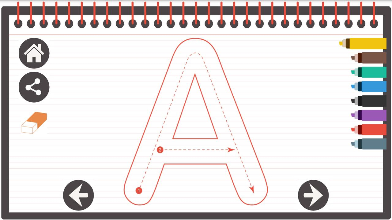 Tracing Letters From A To Z For Android - Apk Download with regard to Tracing Letters Font Download