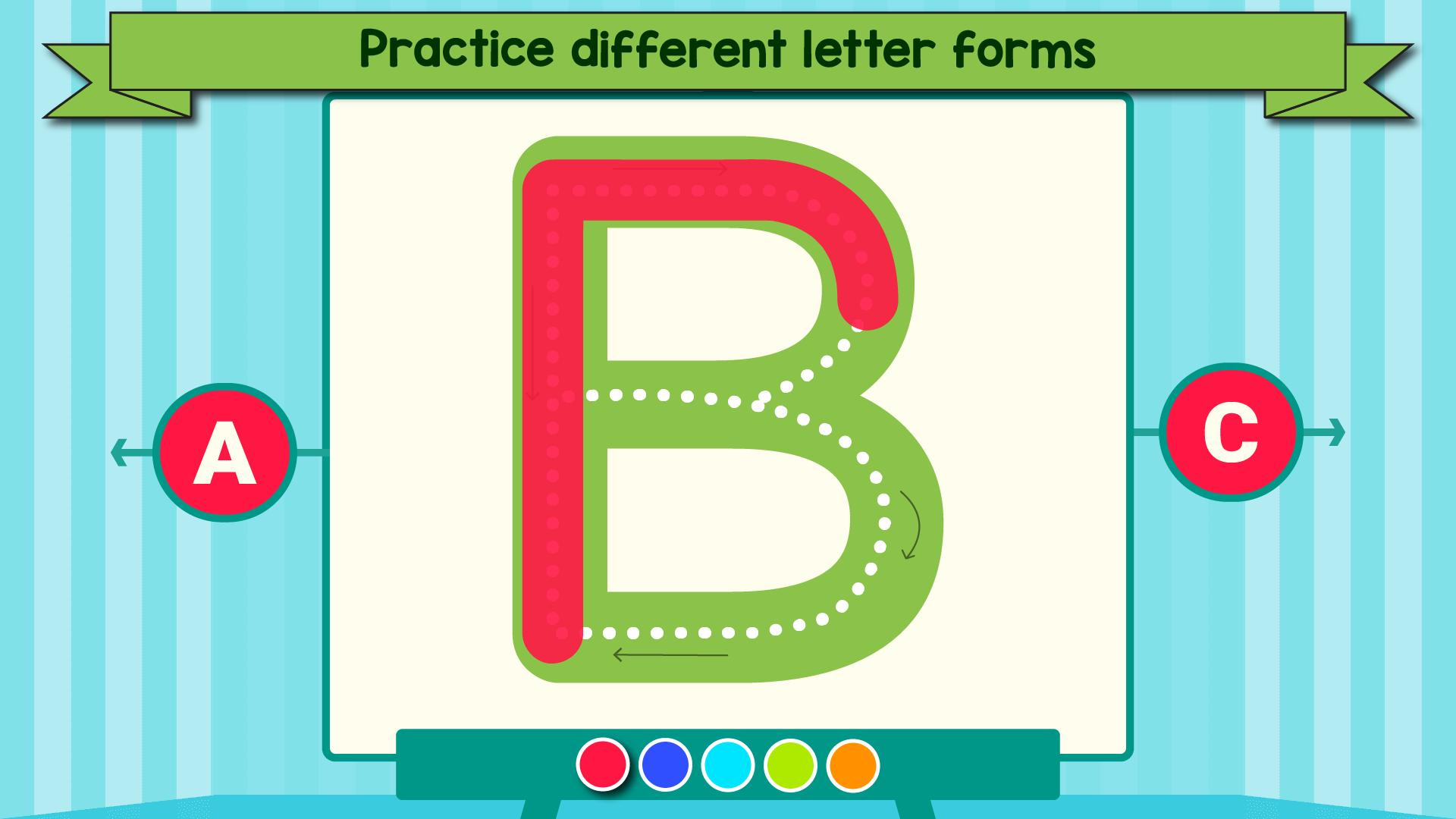 Tracing Letters & Numbers - Abc Kids Games For Android - Apk in Tracing Letters Online Games