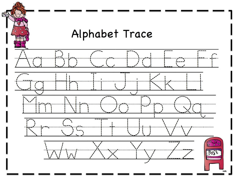 Tracing Letters Worksheet Free Download | Loving Printable with Tracing Letters Font Free Download