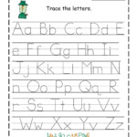 Tracing Templates - Wpa.wpart.co with Tracing Letters Worksheets Name